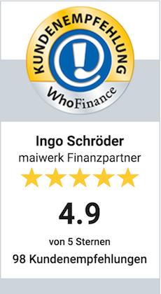 whofinance Ingo Bewertung